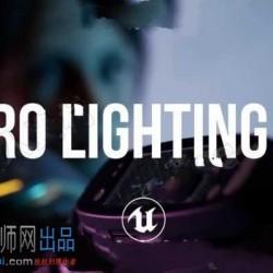 6组专业灯光照明套件UE4游戏素材资源