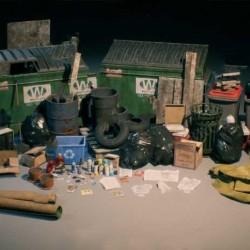 城市垃圾与废物处理设施UE4游戏素材资源