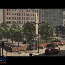 超大型城市市中心内外部场景细节UE4游戏素材资源
