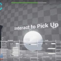 第一人称角色蓝图实时编辑UE4游戏素材资源