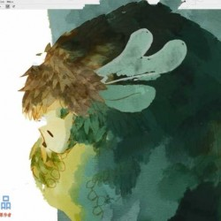 《大鱼海棠》PS水彩插画创作技巧数字绘画教学视频教程
