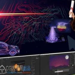 AE表达式编写与关键帧自动化视频教程