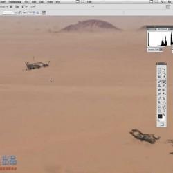 Nuke沙漠数字绘景完整实例训练视频教程