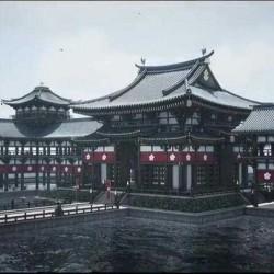 日本寺庙庙宇内外部场景细节UE4游戏素材资源