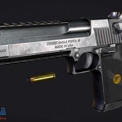 高精度手枪 - 沙漠之鹰