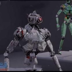 超现实科幻概念机器人模型UE4游戏素材资源