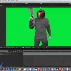 AE与3dsamx好莱坞视觉特效VFX实例制作视频教程