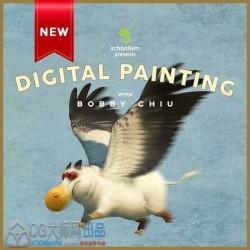 Bobby Chiu概念艺术数字绘画实例训练视频教程