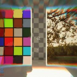 科幻特效虚影破碎马赛克小故障处理UE4游戏素材资源