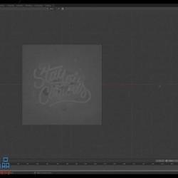 Blender精致3D字体字幕文字实例制作视频教程