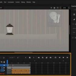 [Flash/Animate] Adobe Animate VR虚拟现实场景制作训练视频教程