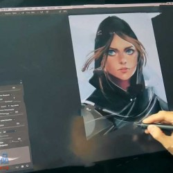 星球大战女性角色概念原画设计视频教程