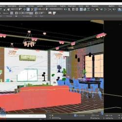 3dsmax现代风格室内设计实例训练视频教程
