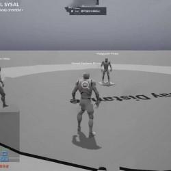 玩家之间社交活动系统UE4游戏素材资源