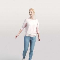 20组日常人物休闲生活行为姿势高质量3D模型第二季