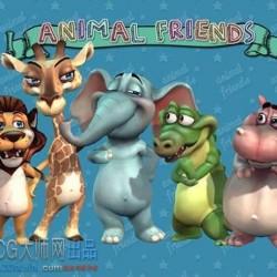 Animal Friends-动物之友-丛林主题
