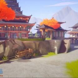 UE4_4.25场景 日式风格场景 Japanese Temple