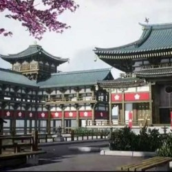 『UE4素材资源』日本寺庙庙宇内外部场景细节UE4游戏素材资源