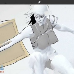 Easy Pose中3D角色模型剖析绘制技术训练视频教程