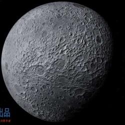 2k贴图月球模型