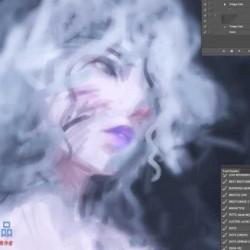 抽象概念艺术角色设计数字绘画训练视频教程