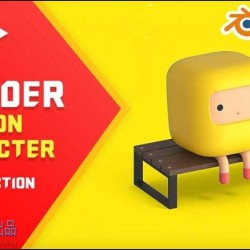 Blender简单低聚卡通角色实例制作视频教程
