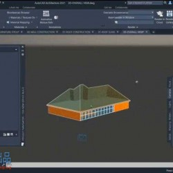 AutoCAD Architecture 2021基础核心技术训练视频教程