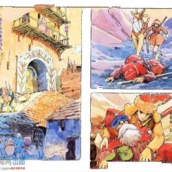 宫崎骏《修那拉之旅》官方设定画集