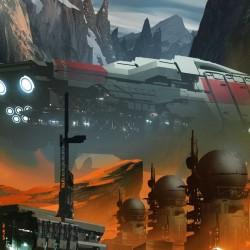 论氛围的重要性!一眼便坠入星际世界的科幻陷阱 - Ryan Gitter作品分享106P