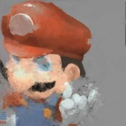 PS手绘游戏材质技法数字绘画视频教程