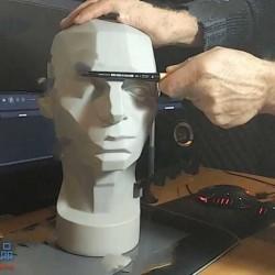 人类面部五官结构数字绘画剖析视频教程