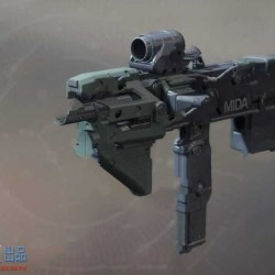 《命运2》官方炫酷武器3D画集