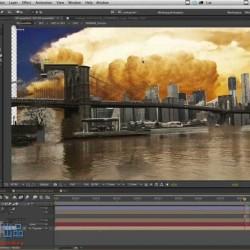 AE科幻创意电影预告片特效合成实例训练视频教程