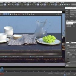 3dsMax中V-Ray室内设计渲染合成技术指南视频教程