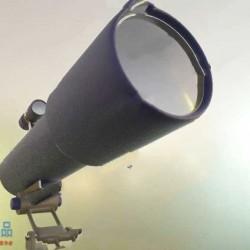 Blender 2.9高质量望远镜实例制作训练视频教程