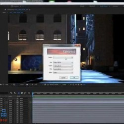 AE影视级闪电火花科幻街道特效合成实例训练视频教程