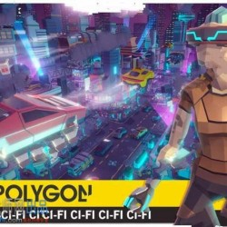 3D科幻立体卡通形象风格环境主题场景Unity游戏素材资源
