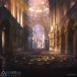 日韩魔幻世界游戏角色和场景设计原画集