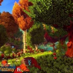 森林梦幻3D环境场景Unity游戏素材资源