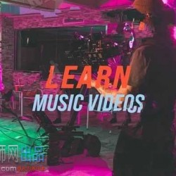 国外音乐录影带MV拍摄制作训练视频教程