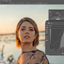 PS户外自然光肖像拍摄后期修饰技巧视频教程