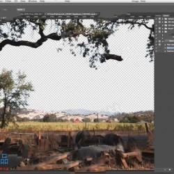 PS风景自然环境背景特效合成技术视频教程
