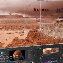 AE标题动画运动字体设计实例训练视频教程