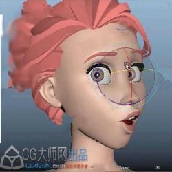 皮克斯工作室大师制作角色面部表情影视动画视频教程