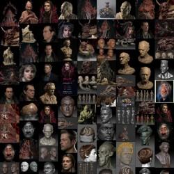 国人3D艺术家 黑老道 超写实角色110P