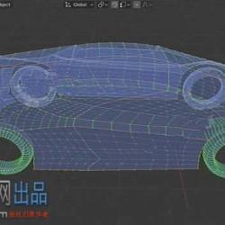 Curves To Mesh网格形状自动填充建模Blender插件V2.4.0版