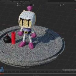 Blender复古游戏炸弹人角色实例制作视频教程