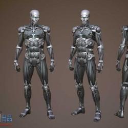 次世代cyborg改造机械人