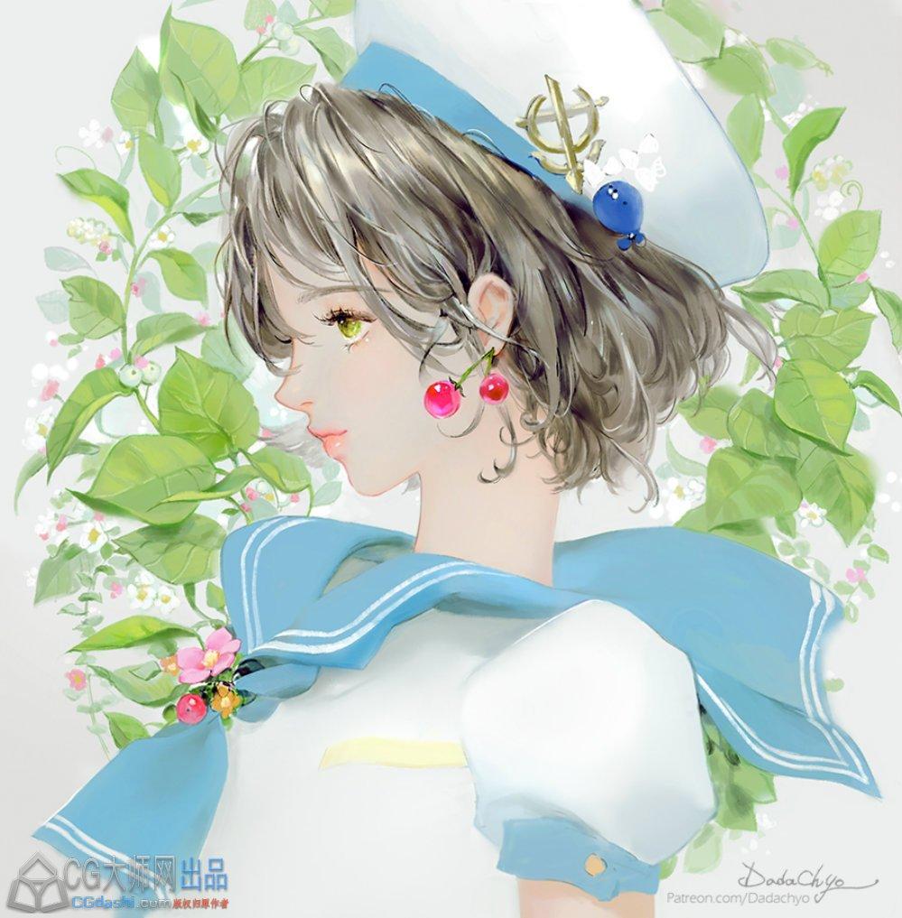 棒子DADACHYO绘画,图片在精不在多。风格特别