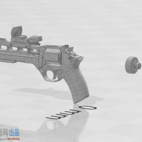 精美手枪模型 带瞄准镜Killing Floor 2 - Chiappa Rhino 60DS with reflex sight